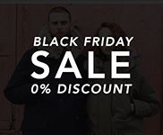 Black Friday offer - 0% Discount
