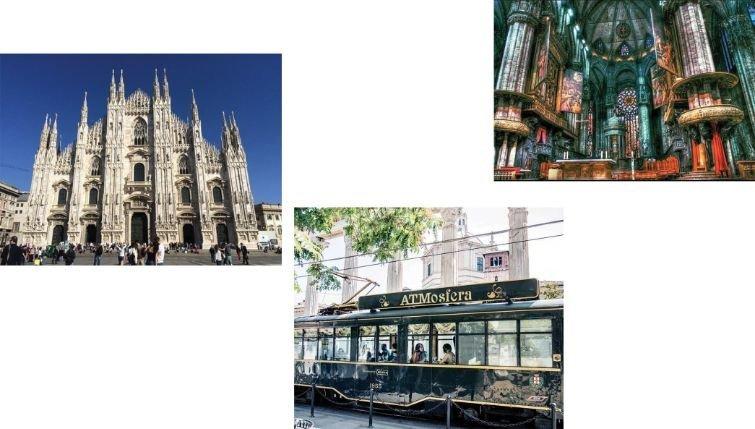 A tour of Milan is a must