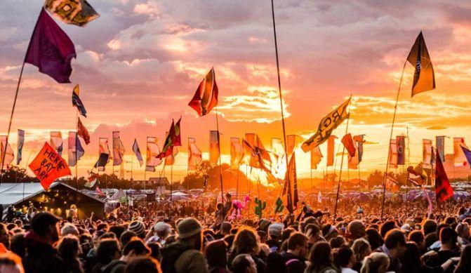 The iconic English festival Glastonbury