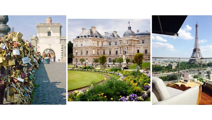 Enjoy Paris sights during the day