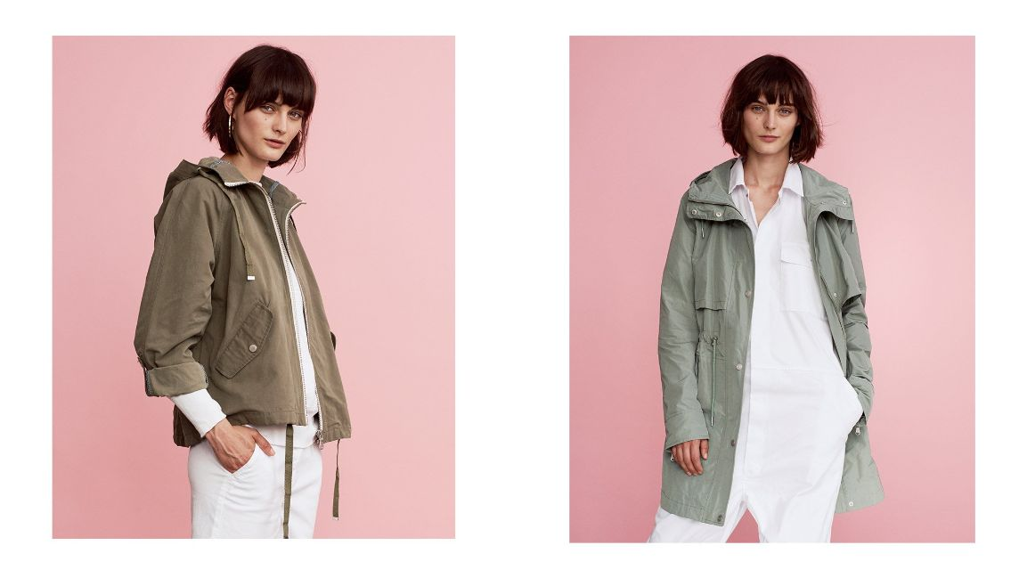 "<strong><a href=""https://www.parkalondon.com/issy-short-parka.html"">ISSY</a></strong> and <strong><a href=""https://www.parkalondon.com/fleur-essential-water-resistant-parka.html"">FLEUR </a></strong>"