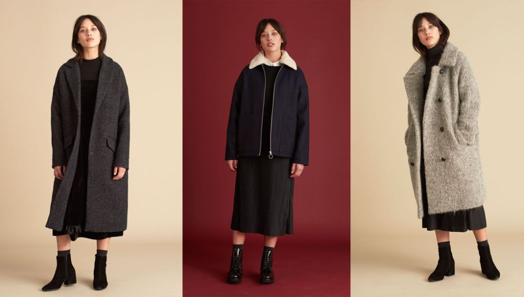 Traditional wool coats with a contemporary twist - Lola, Iris and Georgia