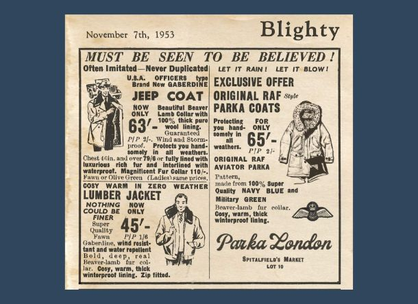 Where It All Began: This Is How Jackets Were Sold in 1953