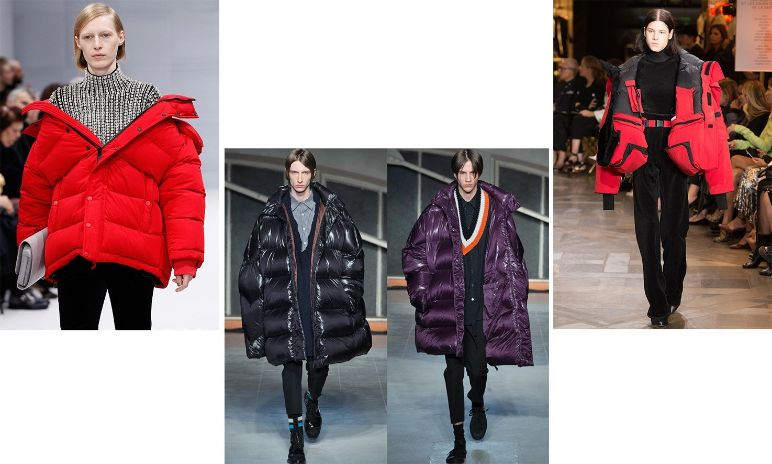 SOME OF OUR FAVOURITE PUFFER COATS ON THE CATWALK
