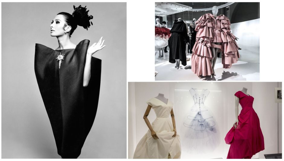<a href=http://www.vam.ac.uk/exhibitions/balenciaga-shaping-fashion> BALENCIAGA; SHAPING FASHION EXHIBITION</a>