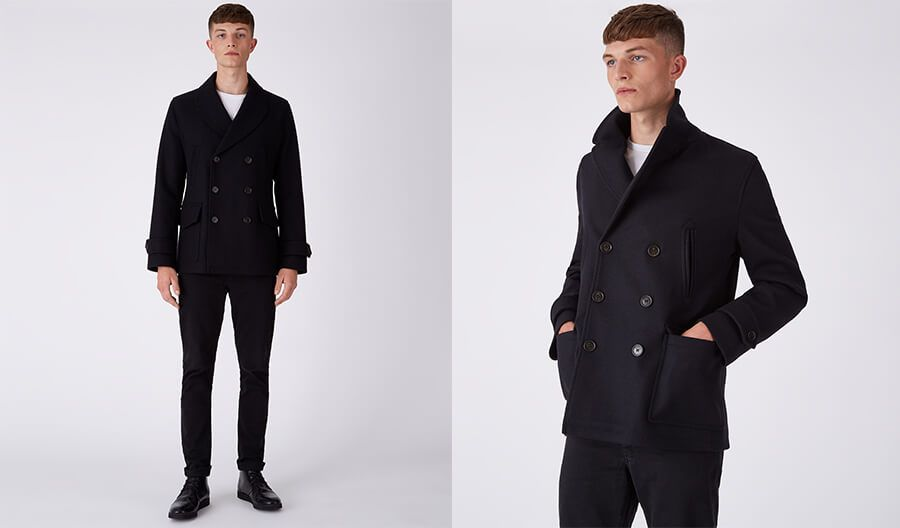 "Shop the <strong><a href=""https://www.parkalondon.com/men.html"">Peacoat</a></strong>"